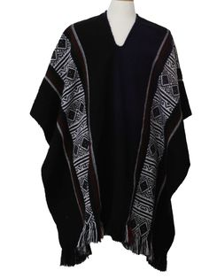 mens hooded poncho - Google Search
