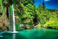 Be sure to add the UNESCO site of Plitvice Lakes National Park, with its stunning waterfalls and 16 connected lakes to your travel Croatia, must see list. Places To Travel, Travel Destinations, Places To Visit, Travel Nursing Companies, Plitvice Lakes National Park, Vacation Trips, Vacation Travel, Travel List, Vacation Ideas