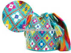 backpack Wayuu--how to tapestry crochet mochilla bags