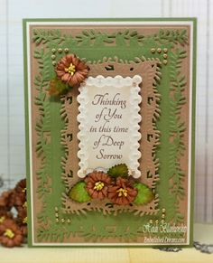Deep Sorrow Sympathy CAS (Clean and Simple) Card