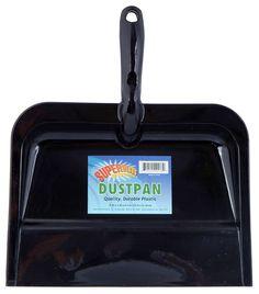 Superior Performance Dustpan (Set of Color: Black One Peace, Pan Set, Good Grips, Dustpan, Household, Color Black, Products, Walmart, Plastic