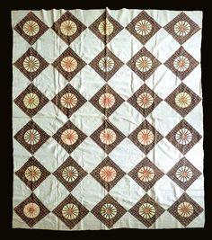 vintage quilt top featured on Sue Garman blog November 2014