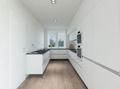 Biela kuchyňa Interior Design Living Room, Living Room Decor, Bedroom Decor, Sustainable Design, Design Trends, Kitchen Decor, Kitchen Cabinets, White White, White Bedroom