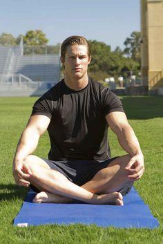 Why men shouldn't do yoga.