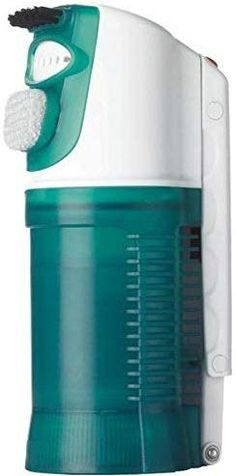 This handheld fabric steamer from Conair is the ONLY dual voltage steamer we could find. Includes a detachable bristle and lint brush to remove debris and have more hand control. Incredibly light at just 1.2 pounds this could easily be the best travel steamer for clothes available. #TravelFashionGirl #TravelFashion #clothingsteamer #travelsteamer #portabletravelstream #handheldtravelsteamer