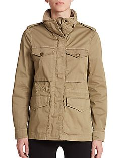 Burberry Brit Marshdale Jacket Cargo Jacket, Burberry Brit, Color Inspiration, Military Jacket, Calm, Jackets, Collection, Style, Fashion