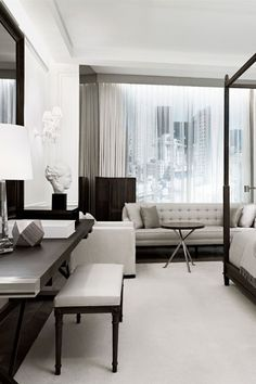 These NYC hotels bring together high design, glitz, and hip bars and restaurants | hotel, luxury, interior design, hotel decor. More inspirations at http://www.bocadolobo.com/en/inspiration-and-ideas/