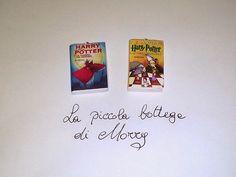 La piccola bottega di Morry: Mini-libri in fimo ispirati ad Harry Potter
