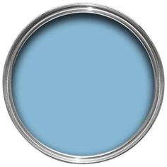 Colours Warm Blue Matt Emulsion Paint 50ml Tester Pot: Image 1