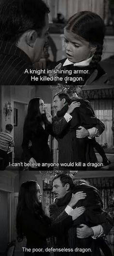 Addams family.  Dragon