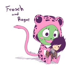 Fairy Tail - Rogue and Frosch Fairy Tail Cat, Fairy Tail Rogue, Fairy Tail Anime, Exceed Fairy Tail, Best Animes Ever, Jellal And Erza, Fairy Tail Family, Fariy Tail, Jerza