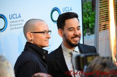 Chester Bennington & Mike Shinoda of Linkin Park and Music for Relief- article: Lawrence Bender Honored, Linkin Park Performs at UCLA's An Evening of Environmental Excellence #IoES #UCLA http://www.redcarpetreporttv.com/2014/03/22/lawrence-bender-honored-linkin-park-performs-at-uclas-an-evening-of-environmental-excellence-ioes-ucla/