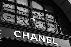 Chanel sign on store in Paris, France | Flickr - Photo Sharing!