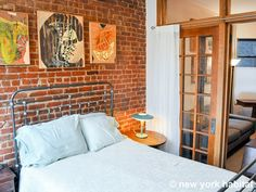 The ultimate #NewYork experience, exposed brick and all. http://www.nyhabitat.com/new-york-apartment/furnished/14677