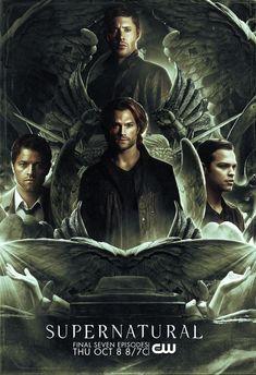 Supernatural Series, Supernatural Poster, Supernatural Bunker, Supernatural Pictures, Supernatural Wallpaper, Winchester Supernatural, Supernatural Funny, Castiel, Disney Marvel