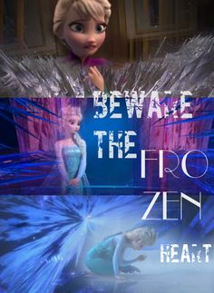 Finally realized that the opening song is a foreshadowing all about Elsa. I tried to match the pictures with her most dangerous moment and her most vulnerable.