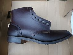 William Lennon boots  World War 1 Army replica B5 boots. Hand made in Derbyshire.