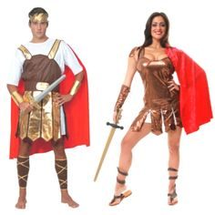 Roman and Greek warriors Couple Costumes, Group Halloween Costumes, Couples Halloween Costumes and Family Halloween Costumes