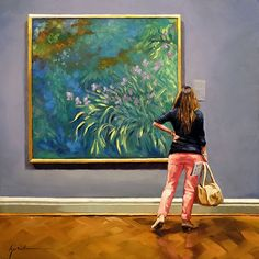 """A Painting Today: """"For the Love of Monet"""", Karin Jurick"""