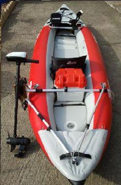 Sidetracker, Kayak motor mount