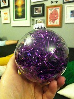 DIY Tinsel Ornament