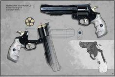 Custom Casul .455 Revolver.