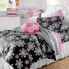 Pink Flower Pillow!!    Daisy Mae Kids Bedding for Girls