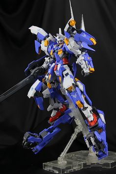 GUNDAM GUY: MG 1/100 Gundam Avalanche Exia Dash - Conversion Build
