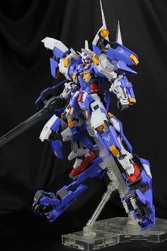 GUNDAM GUY: MG 1/100 Gundam Avalanche Exia Dash - Conversion Build