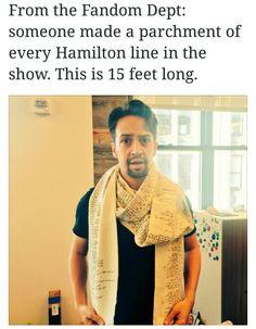 Looks like a very fashionable scarf