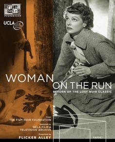 Woman on the Run - Blu-Ray/DVD (Flicker Alley Region Free/1) Release Date: April 12, 2016 (Flicker Alley U.S.)