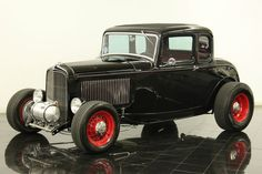 Stock Height, 32 Ford Coupe