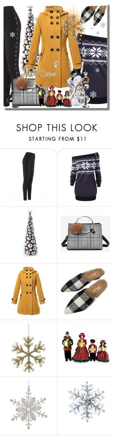 """Christmas-Gamiss"" by pesanjsp ❤ liked on Polyvore featuring Parlane, Santa's Workshop, Kurt Adler, Christmas, contest and gamiss"