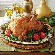Grill-Smoked Turkey Recipe   MyRecipes.com