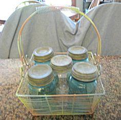 Vintage fruit jar assortment for sale at More Than McCoy at http://www.morethanmccoy.com