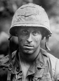 """The thousand yard stare.""Sfc. Dennis Worcester (Steven Weber) from Hamburger Hill."