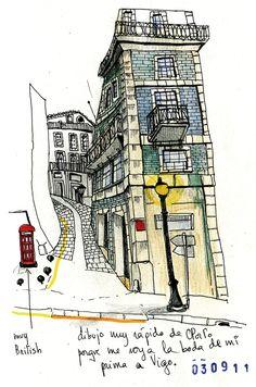 Amaia Arrazola. Beautiful sketches. V inspiring