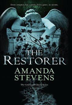 The Restorer (The Graveyard Queen Series) by Amanda Stevens, http://smile.amazon.com/dp/B006PHU9Z8/ref=cm_sw_r_pi_dp_3bNXtb05KNSSC