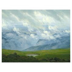 Bring gallery-worthy appeal to your walls with this artful canvas giclee print, showcasing a serene landscape motif.