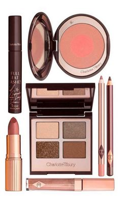 "for the perfect everyday look try: ""The Golden Goddess"" set by Charlotte Tilbury"