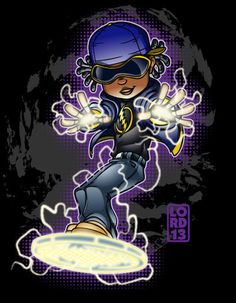 Young Justice Invasion- Static by lordmesa.deviantart.com on @deviantART