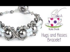 Hugs and Kisses Bracelet | Take a Make Break with Sarah Millsop - YouTube