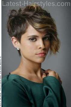 The Prettiest Short Hairstyles for Summer 2015                                                                                                                                                                                 More