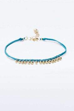 Ditsy Cord Friendship Bracelet - Urban Outfitters