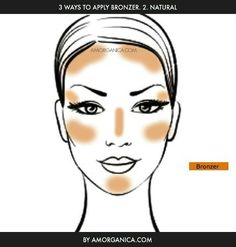 How to apply bronzer 2 of 3
