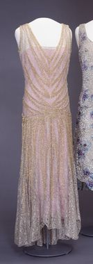Evening Dress 1929 DigitaltMuseum - Gallakjole