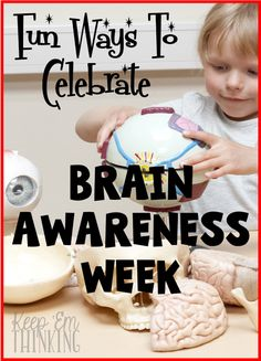 Did you know there's a Brain Awareness Week in March? Click through to learn all about it and how you can celebrate in your classroom! Great ideas for your 1st, 2nd, 3rd, 4th, 5th, and 6th grade students!