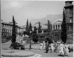 Undated pic of upper campus. Click through to view more images of the campus from More Images, Cape Town, South Africa, Street View, History, Place, Collections, Outdoor, Digital