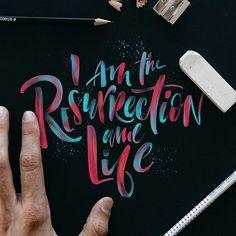 @stefankunz brushlettering / qoute / motivation / Handlettering / lettering / typography / brushtype / designinspiration / goodletters  / handmadefont / moderncalligraphy / calligratype / calligraphy