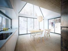 Villa Korsmo / Huus og Heim Arkitektur